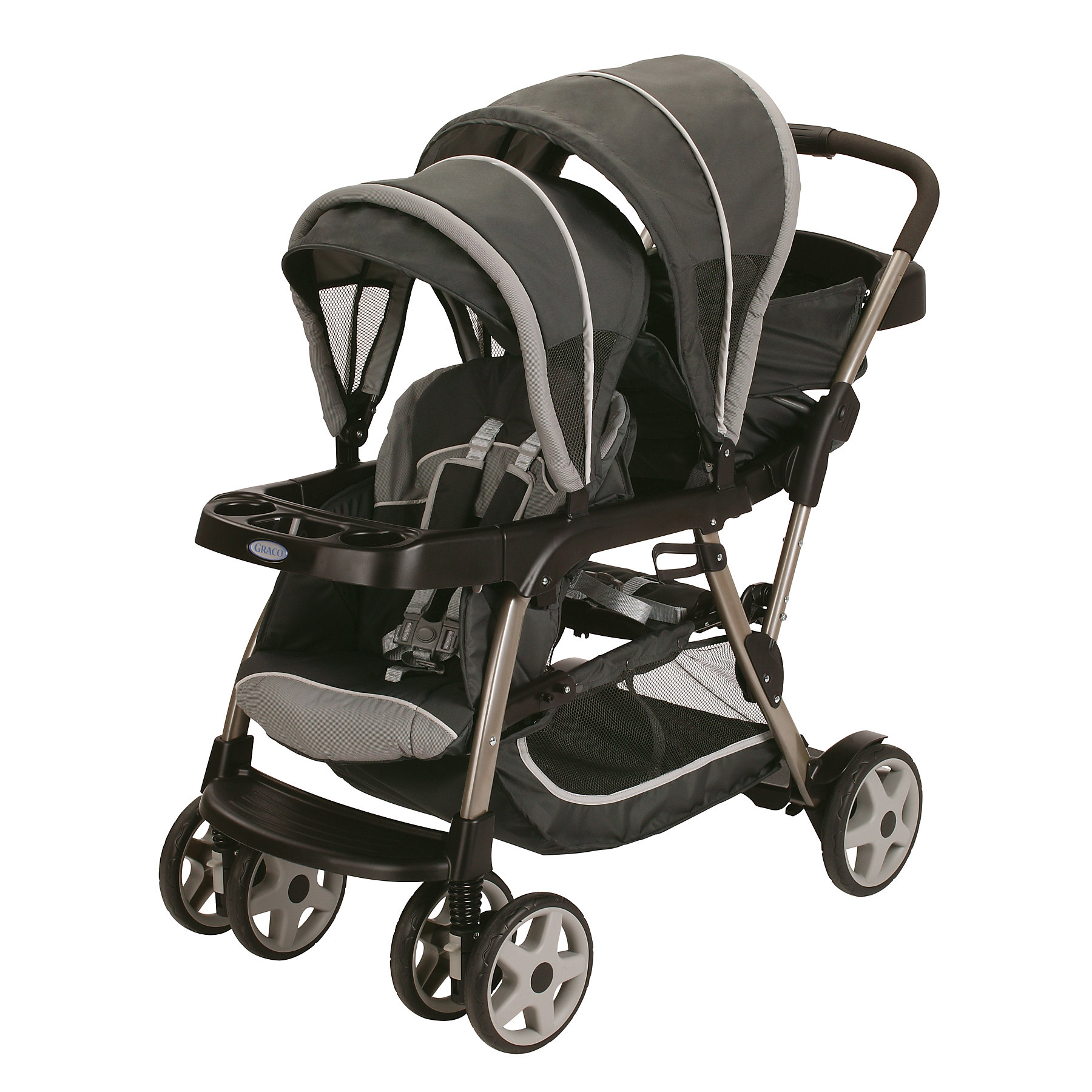 Graco Ready2Grow Stand and Ride Stroller in Glacier (1873...