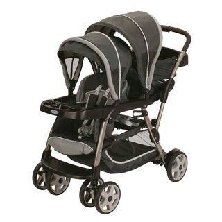 Graco Ready2Grow Stand and Ride Stroller in Glacier
