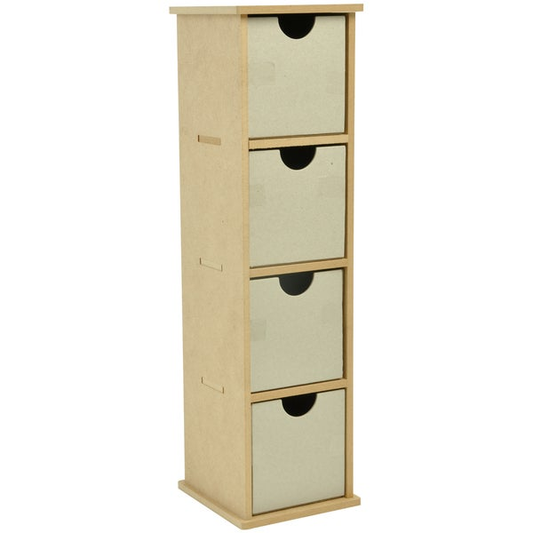 "Beyond The Page MDF Tall Drawers-4.5""X16.5""X4.75"" (115x420x120mm)"