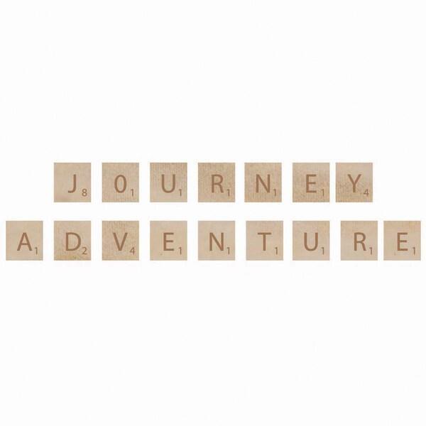 Wooden Letter Words-Adventure