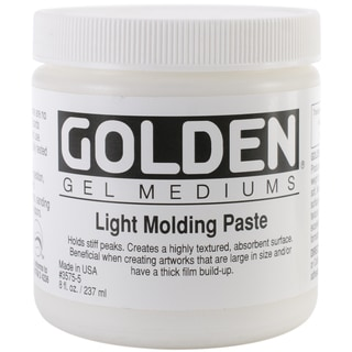 Golden Light Molding Paste 8 Ounces