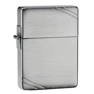 Zippo 1935 Replica Slashed Metal Lighter|https://ak1.ostkcdn.com/images/products/7903703/7903703/Zippo-1935-Replica-Slashed-Metal-Lighter-P15283384.jpg?impolicy=medium