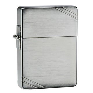 Zippo 1935 Replica Slashed Metal Lighter