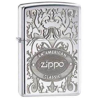 Zippo Lighter American Classic High Polish Chrome