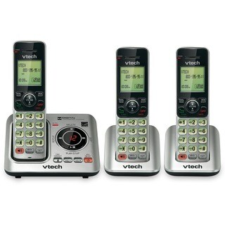 VTech CS6629-3 DECT 6.0 Expandable Cordless Phone with Answering Syst