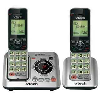 VTech CS6629-2 DECT 6.0 Expandable Cordless Phone with Answering Syst|https://ak1.ostkcdn.com/images/products/7906330/P15285686.jpg?impolicy=medium
