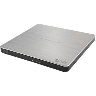 LG GP60NS50 External Ultra Slim Portable DVDRW Silver - Retail Pack