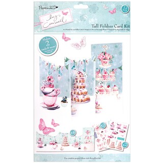 Papermania Lucy Cromwell Tall Foldies Card Kit-