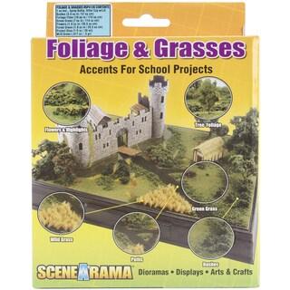 Bushes Foliage & Grasses Kit