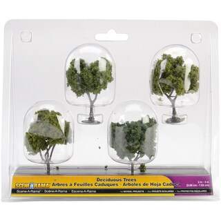 Deciduous Trees (Pack of 4)