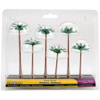 Palm Tree Figurines (Pack of 6)