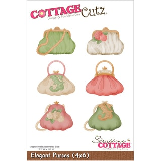 "Cottagecutz Die 4""X6""-Elegant Purses"