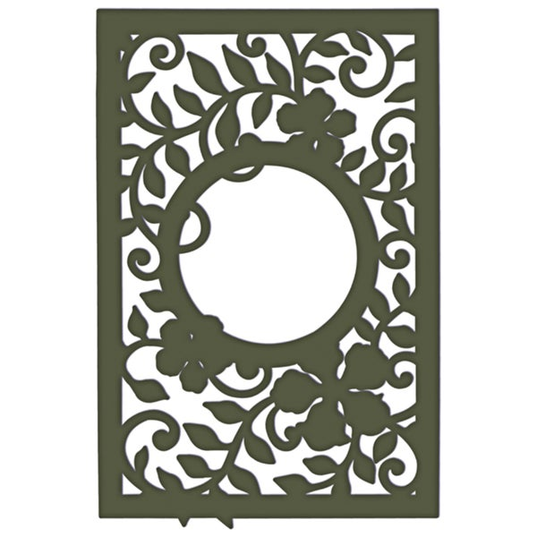 Heartfelt Creations Cut & Emboss Dies by Spellbinders-Decorative Leafy Frame