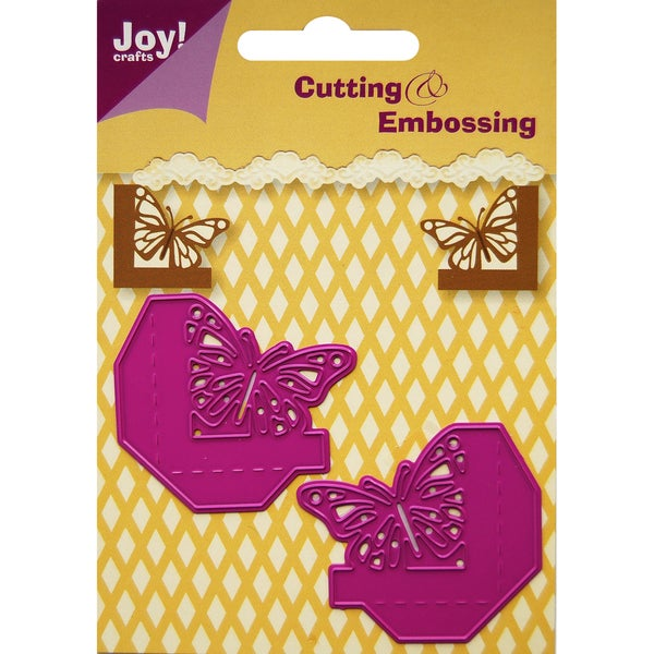 Joy! Craft Dies-Butterfly Corners