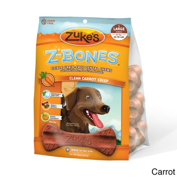 Zuke's Dog Z-Bones (6 Count)