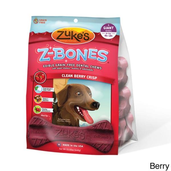 Zuk'es Dog Z-bones (4 count)