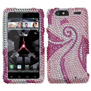 INSTEN Diamante Phone Case Cover for Motorola XT912M Droid Razr Maxx