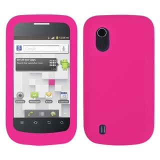 INSTEN Hot Pink Phone Case Cover for ZTE V768 Concord