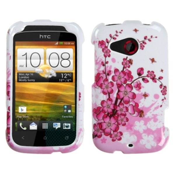INSTEN Spring Flowers Case Cover for HTC Desire C
