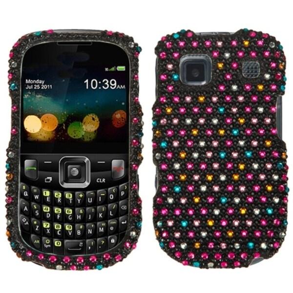 INSTEN Sprinkle Dots Diamante Case Cover for ZTE Z431