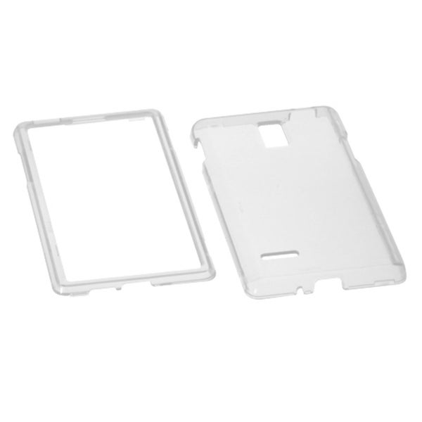 INSTEN Clear Phone Case Cover for LG P769 Optimus L9