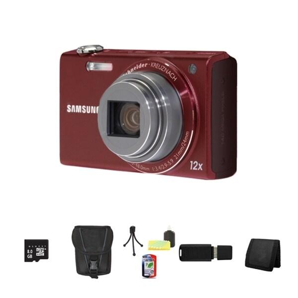 Samsung WB210 14MP Digital Camera with 8GB Bundle