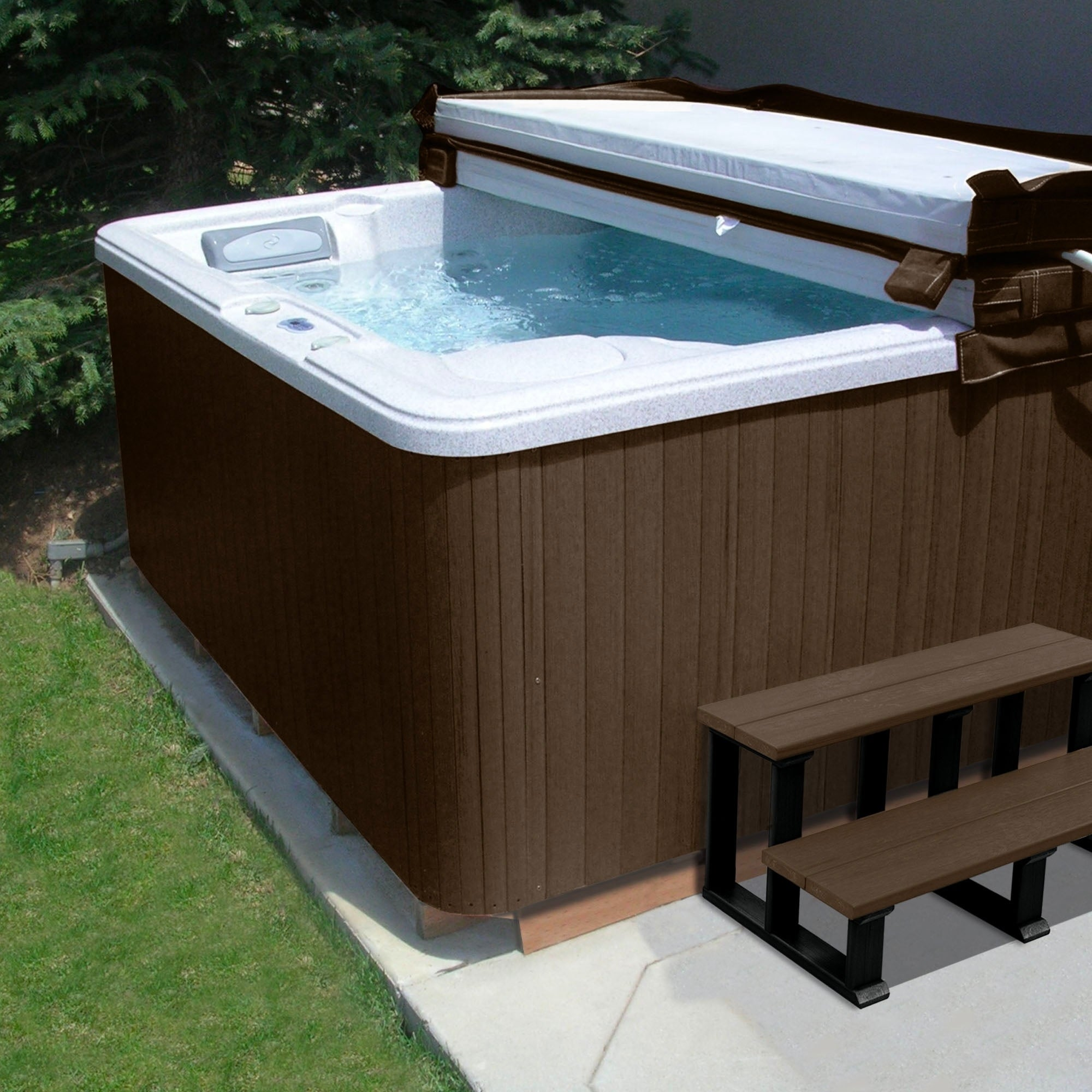 Highwood Eco-friendly Hot Tub/ Spa Cabinet Replacement Ki...