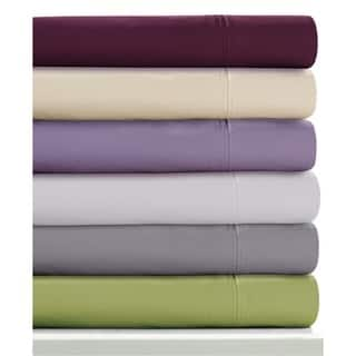 350 Thread Count Cotton Percale Extra Deep Pocket Sheet Set with Oversize Flat https://ak1.ostkcdn.com/images/products/7907637/P15286861.jpg?impolicy=medium
