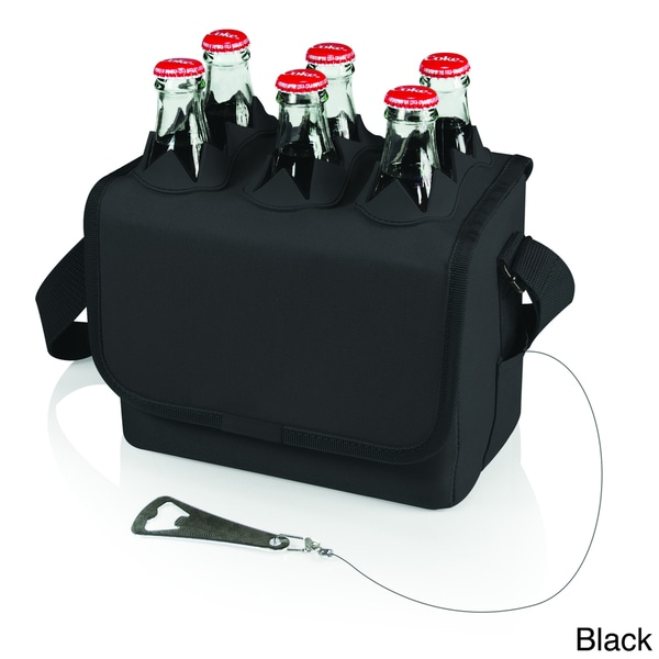 Six-Porter Bottle Tote with Bottle Opener