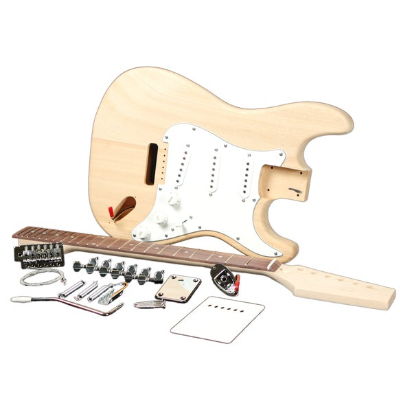 shop ras guitar kits electric guitar builder kit free shipping today overstock 7907677. Black Bedroom Furniture Sets. Home Design Ideas
