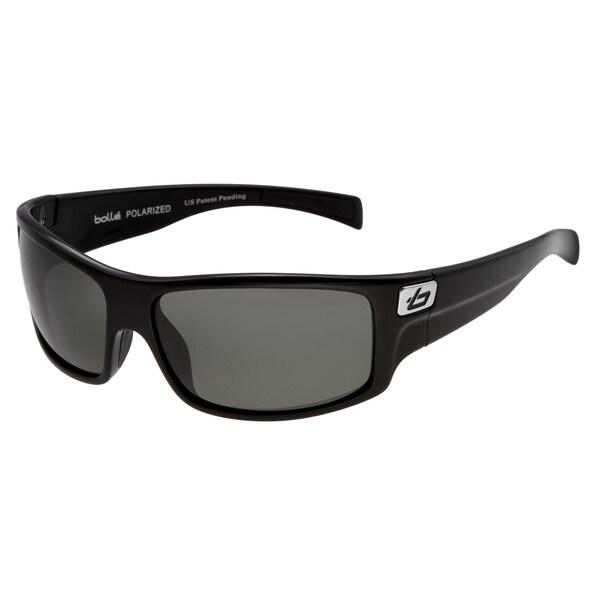 Bolle Men's 'Phantom' Shiny Black Sunglasses