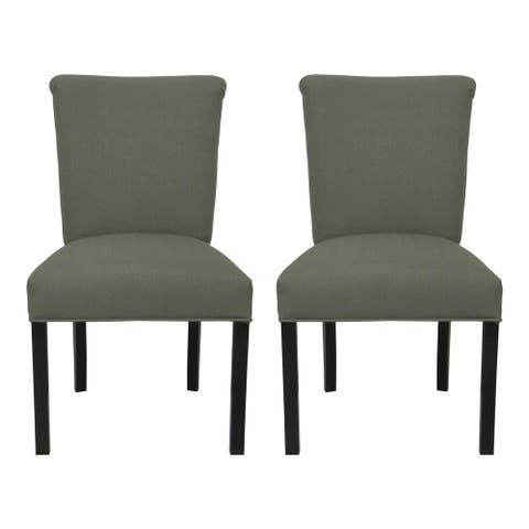 Barcelona Klein Rollerback Dining Chairs (Set of 2) - 20 inches w. x 25 inches d. x 36 inches h