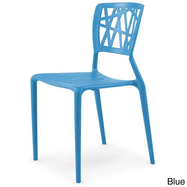 Phoenix Indoor/ Outdoor Molded Resin Colored Side Chair