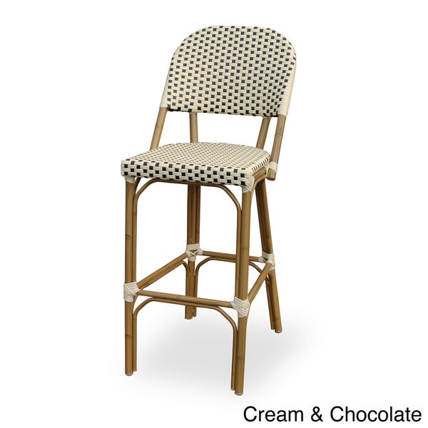 'Paris' Indoor/ Outdoor Bamboo Finished Bar Chair
