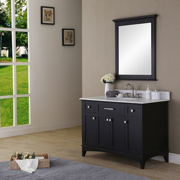 Water Creation Manhattan 48 inch Dark Espresso Single Sink Bathroom Vanity And Manhattan M 3030 Matching Mirror 88430b2f d10b 4373 b142 e7c64d0c9878 600 Before You Hire A Decorative Artists, Ask The Right Questions