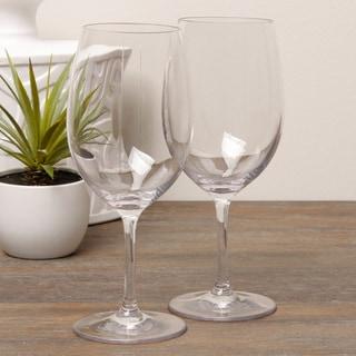 Diligence4us Tritan 20-ounce Wine Glasses (Set of 6)