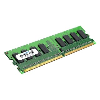 Crucial 2GB, 240-pin DIMM, DDR2 PC2-6400 Memory Module