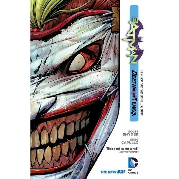 Batman 3: Death of the Family (Hardcover)