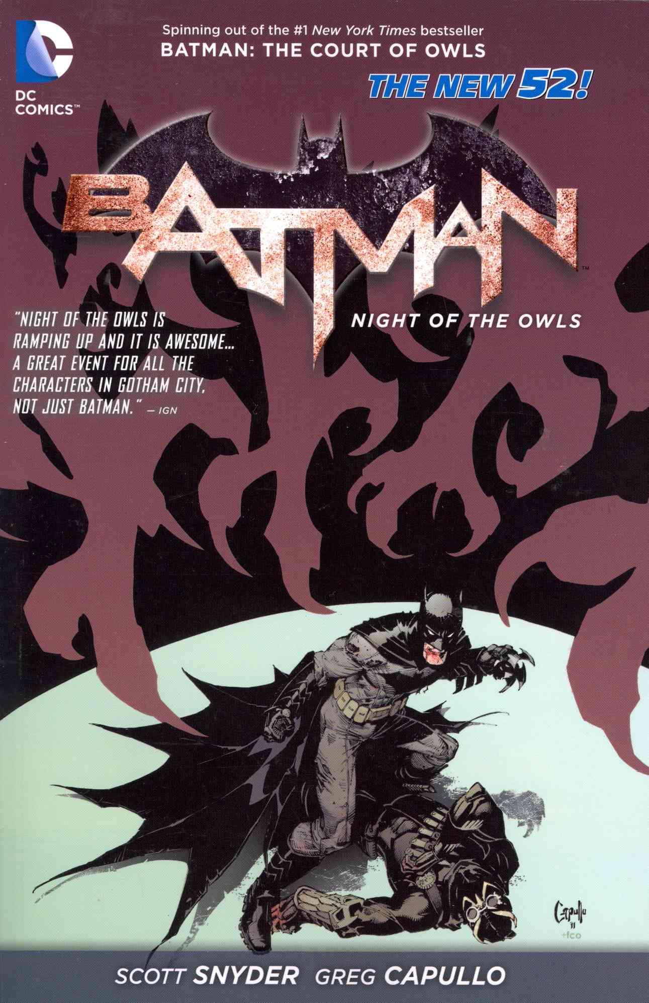 Batman: Night of the Owls  (Paperback)