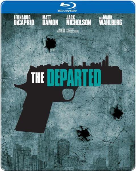 The Departed Steelbook (Blu-ray Disc)