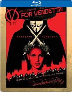 V for Vendetta Steelbook (Blu-ray Disc)
