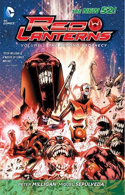 Red Lanterns 3: Rise of the Third Army (New 52) (Paperback)