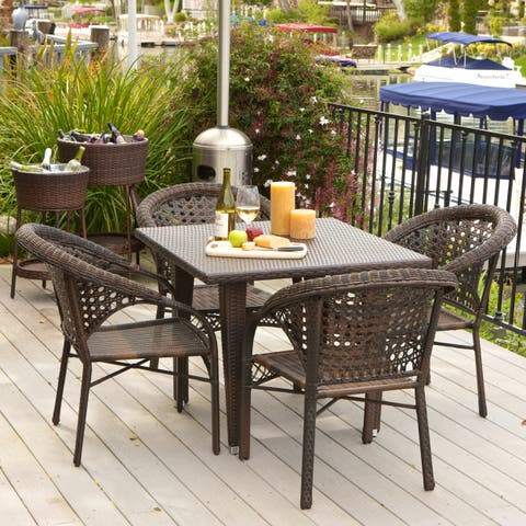 River 5-piece Outdoor Dining Set by Christopher Knight Home