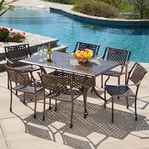 Sebastian 7-piece Dining Set by Christopher Knight Home