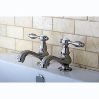 Classic Basin Satin Nickel Bathroom Faucet