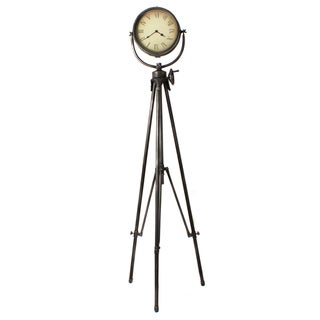 Casa Cortes Large Studio Tripod Floor Clock