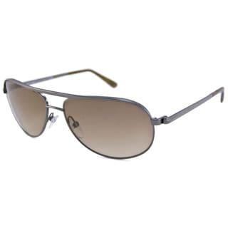 Tom Ford Men's TF0143 Mathias Aviator Sunglasses with UV Protection