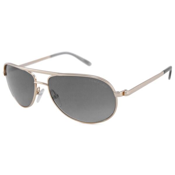 Tom Ford Men's TF0143 Mathias Aviator Sunglasses