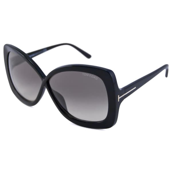 Tom Ford Women's TF0227 Calgary Rectangular Sunglasses