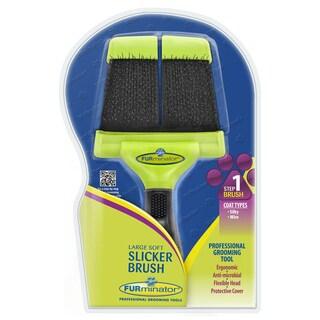 Furminator Grooming Soft Slicker (2 options available)